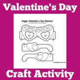 Valentine's Day | Craft Activity | Kindergarten 1st 2nd 3rd Grade