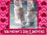 Valentine's Day Craft {4 Valentine Themed Lanterns including Acrostic Poems}