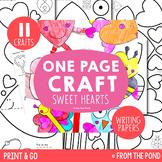 Valentines Day Craft Activities Pack