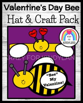 Valentine's Day Craft: Bee Hat