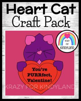 Valentine's Day Craft: Heart Cat