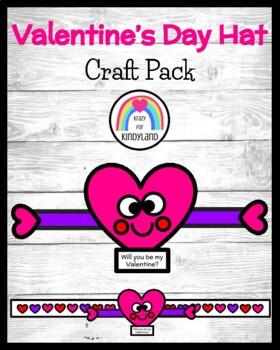 Valentine's Day Craft FREEBIE: Heart Hat