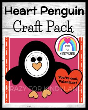 Valentine's Day Craft: Heart Penguin