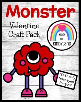 Valentine's Day Craft: Monster