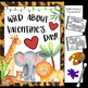 Valentines Day Craft and Bulletin Board Kit - (Q-Tip Dabbing Jungle Animals)