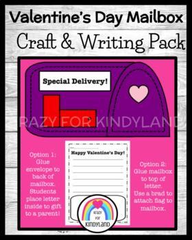 Mailbox Craft and Writing (Valentine's Day)