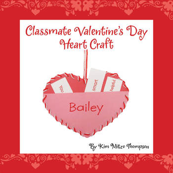 Valentine S Day Craft With Activity To Bring Students Together Tpt
