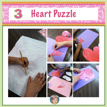 FREE Valentine's Day Craft Activity: Eric Carle Style Hearts