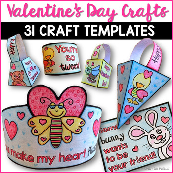 Valentine's Day Crafts Easy No Prep