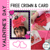 Valentine's Day Craft and Activity Freebie for K-1