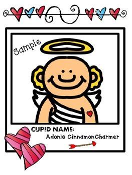 Valentine's Day Cupid Snapshots Activity (Cupid Yourself!)