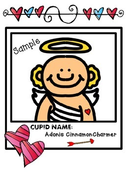 Valentine's Day Cupid Snapshots Activity (Cupid Yourself!)