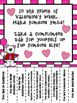 Valentine's Day Messages for Kids - Cupid's Compliments (Version Two)