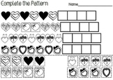Hearts Cut & Paste Patterns