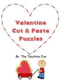 Valentine's Day Cut & Paste Puzzles