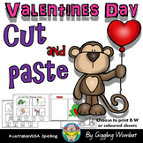 Valentines Day Cut and Paste