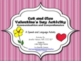 Valentine's Day Cut and Paste Activity with Icons