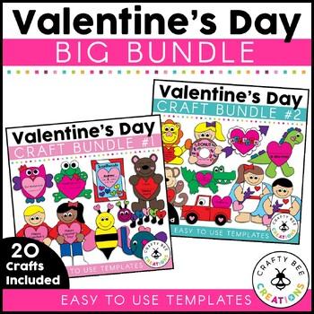 Valentines Day Crafts Bundle