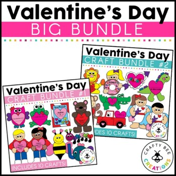 Valentine's Day Cut and Paste Set