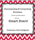 Valentine's Day Decomposing & Composing Numbers on the Smart Board