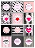 Valentine's Day Decoration (pink/black set)