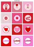 Valentine's Day Decoration (pink/red set)