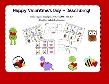 Valentine's Day ~ Describing!