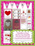 Valentine's Day/  Día De San Valentín  Preschool Pack and Classroom Decorations