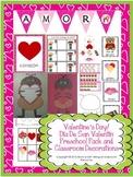 Valentine's Day/  Día De San Valentín  Preschool Pack and