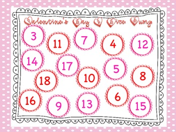 Valentine's Day DOUBLES Addition and Multiplication Games