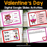 Valentines Day Digital Activities - Google Slides BUNDLE D