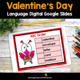 Valentines Day Digital Grammar Activities - Google Slides