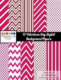 Valentine's Day Digital Paper {Milestone 26 Designs}