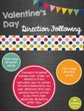 Valentine's Day Direction Following