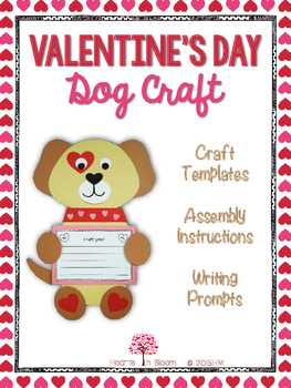 Valentine's Day Dog Craft