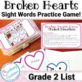Valentines Day Games : Dolch Sight Words for 2nd Grade
