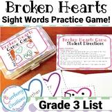 Valentines Day Games : Dolch Sight Words for 3rd Grade