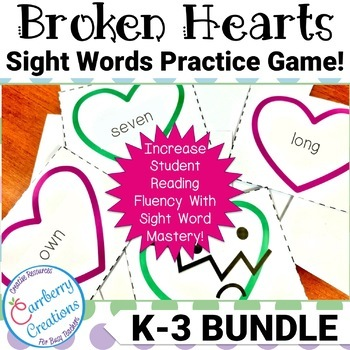 Sight Word Games BUNDLE!