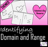 Valentine's Day Domain And Range Activity