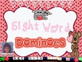 Valentine's Day Dominoes! Dolch Sight Word Domino Game for