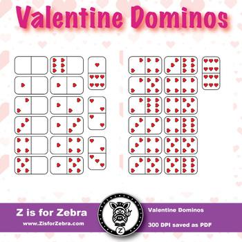 Valentine's Day Dominos