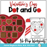 Valentine's Day: Dot and Go Articulation and Phonology (black and white)