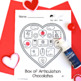 Valentine's Day: Dot and Go Articulation and Phonology (bl