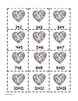 Valentine's Day Doubles & Doubles +1