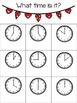 Valentine's Day Dry Erase Pocket Math Sheets Printables