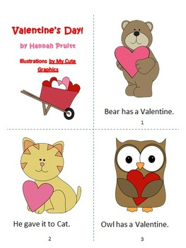 Valentine's Day (Early Reader Reproducible Book)