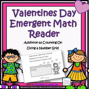 Valentines Day Emergent Math Reader