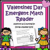 Valentines Day Emergent Math Reader