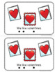 Valentine's Day Emergent Reader and Story Web