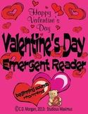 Valentine's Day - Emergent Reader. CCS Aligned